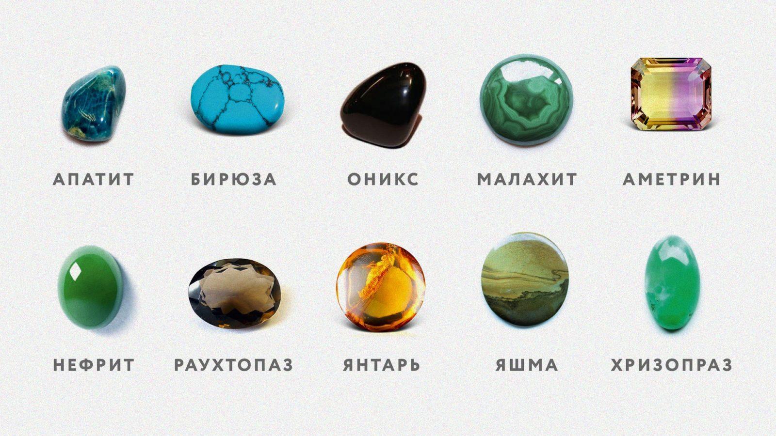 Фото камней самоцветов