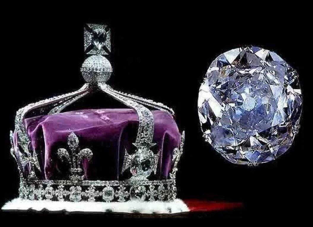 """""""Кохинур"""", украшающий корону королевы Великобритании"""