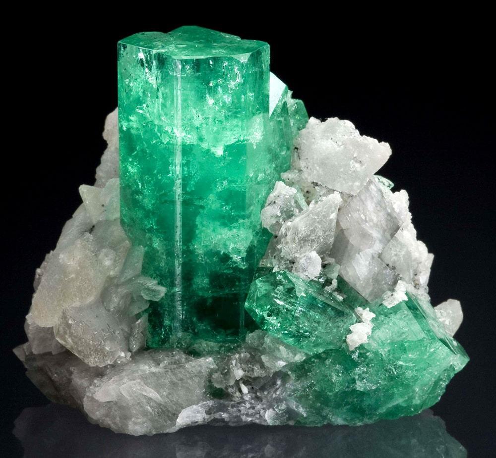 Еремеевит в виде кристалла