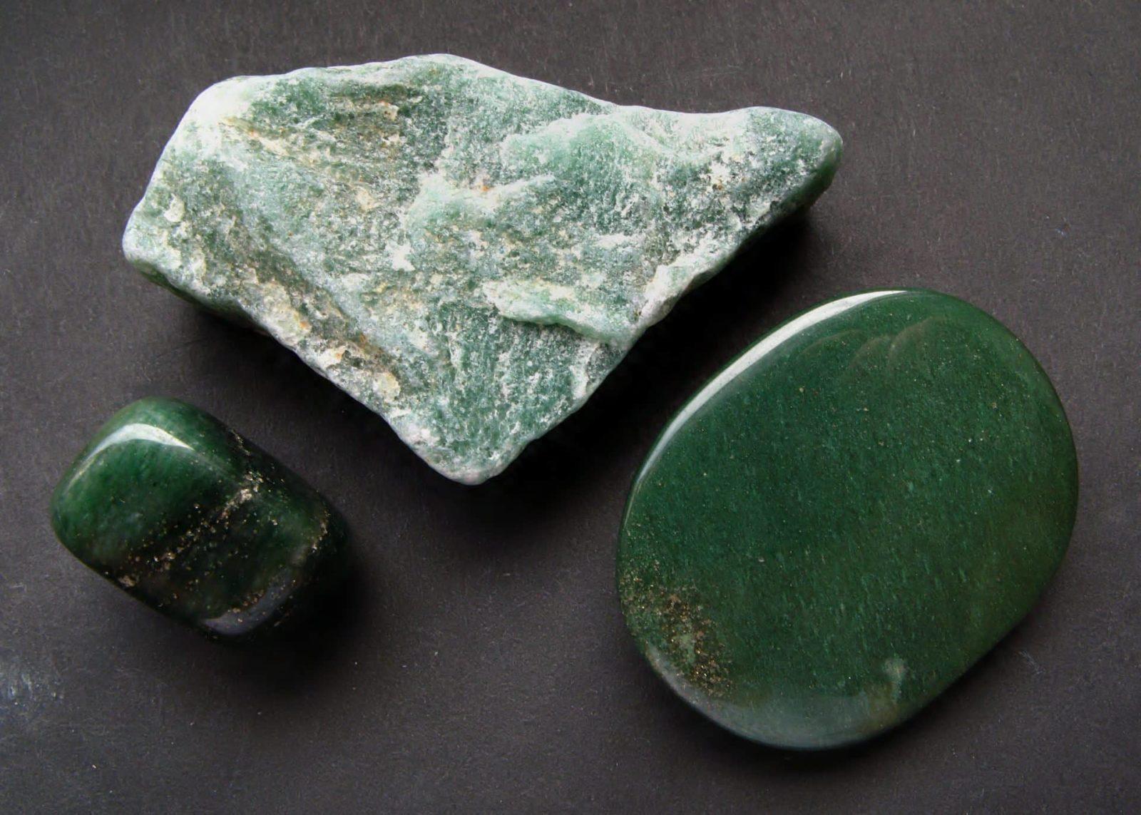 Авантюрин камень без огранки
