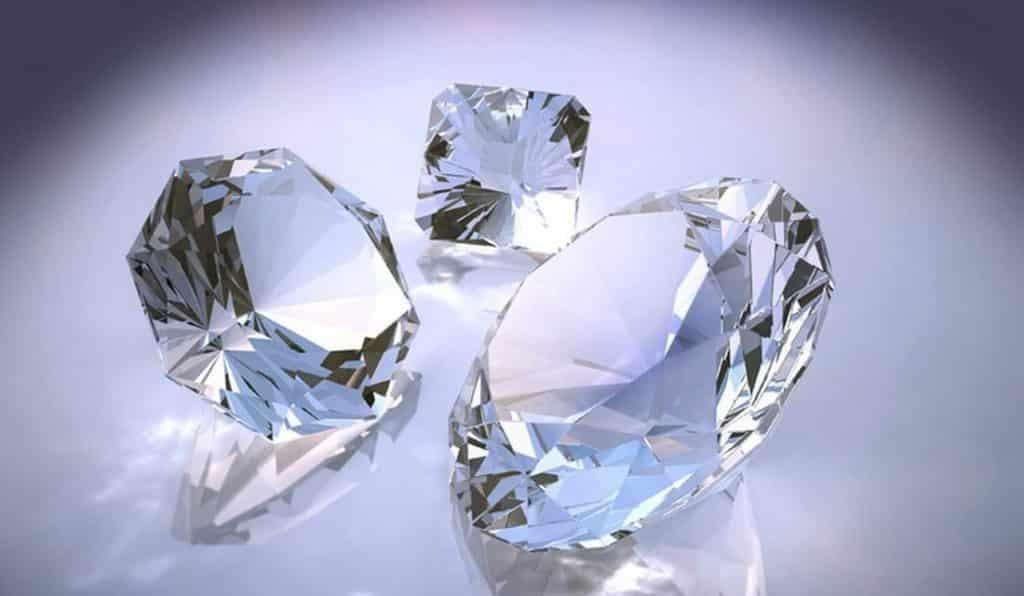 фианиты и бриллианты