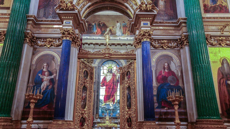 Собор с лазуритовыми колоннами, выстроенный при Екатерине