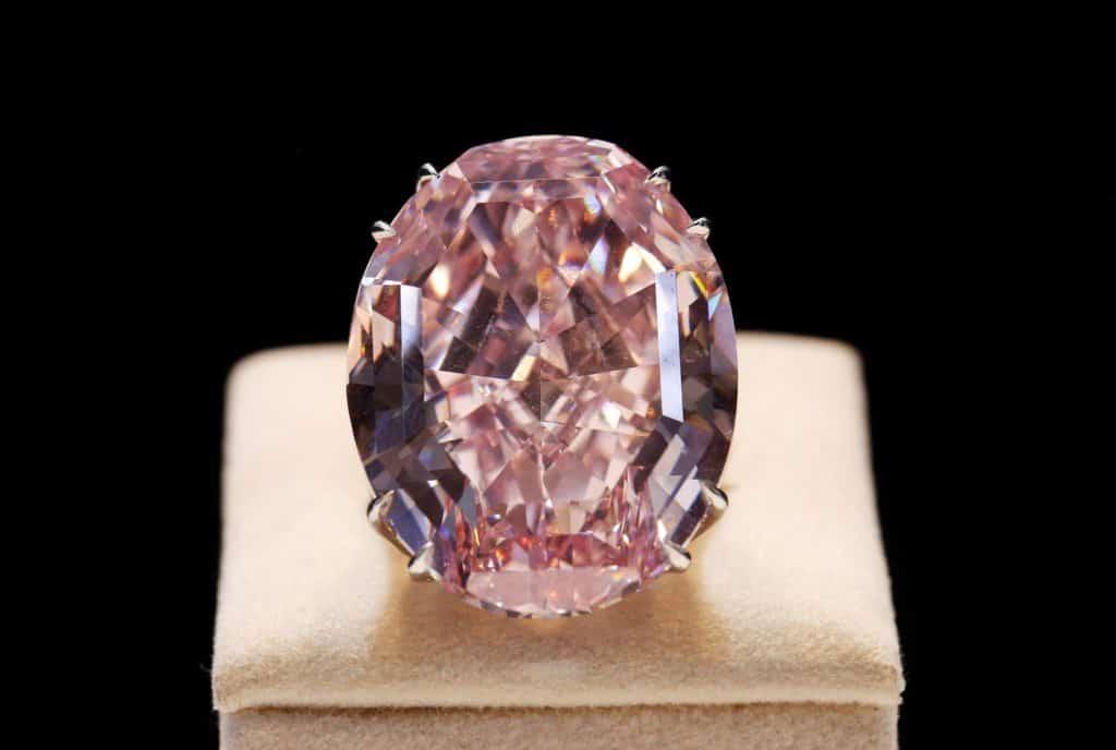 Розовая Звезда один из самых дорогих бриллиантов