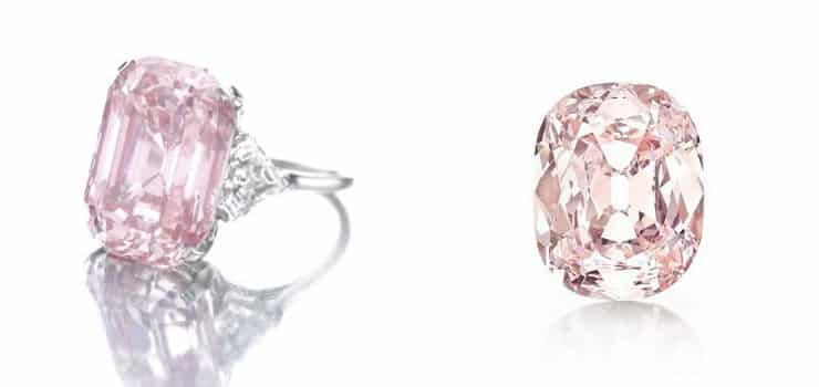 Розовый Граф один из самых дорогих бриллиантов в мире