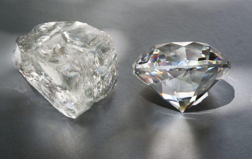 Алмаз и разработка месторождений