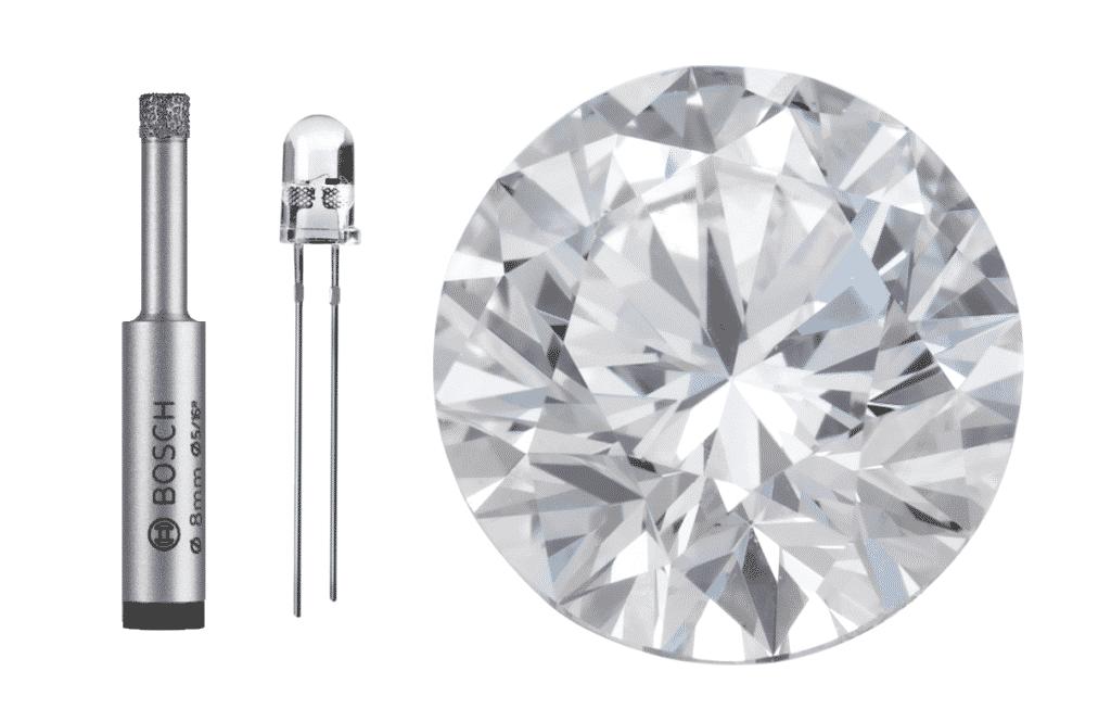 Использование алмаза