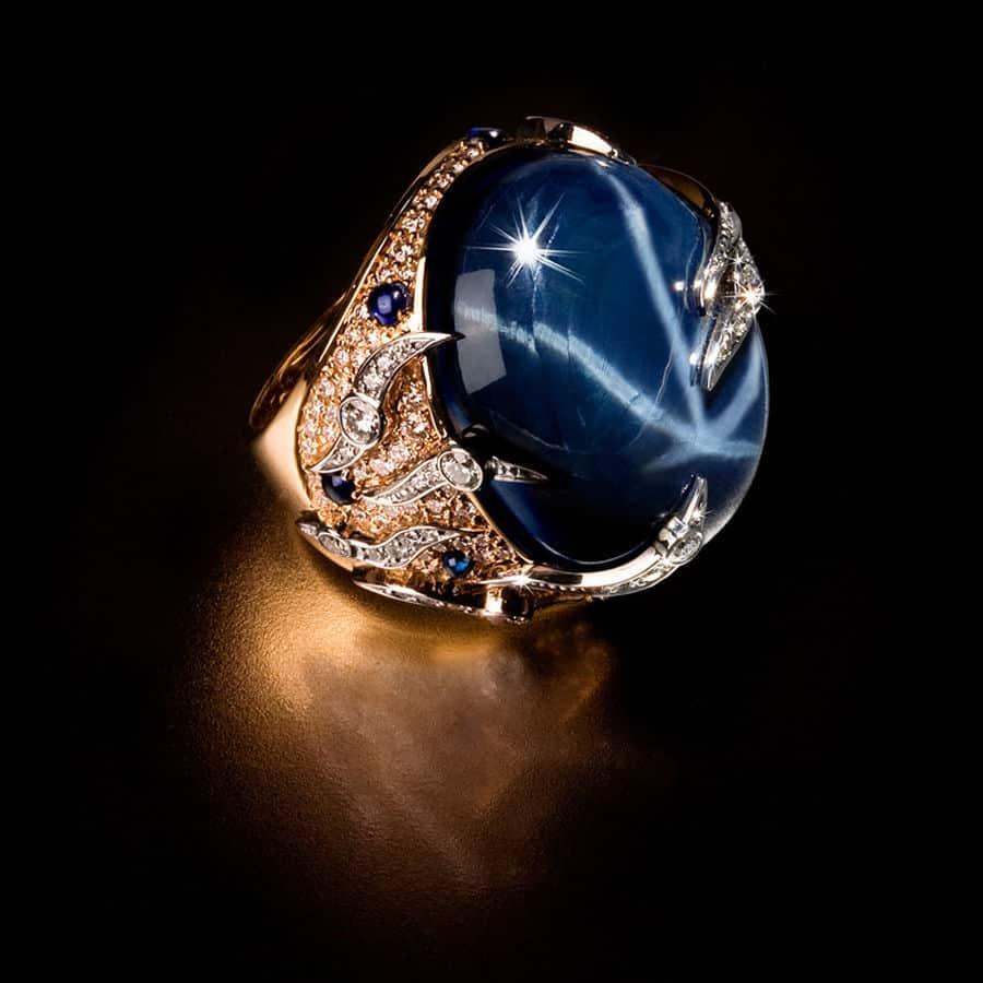 Звездчатый сапфир и знаки зодиака