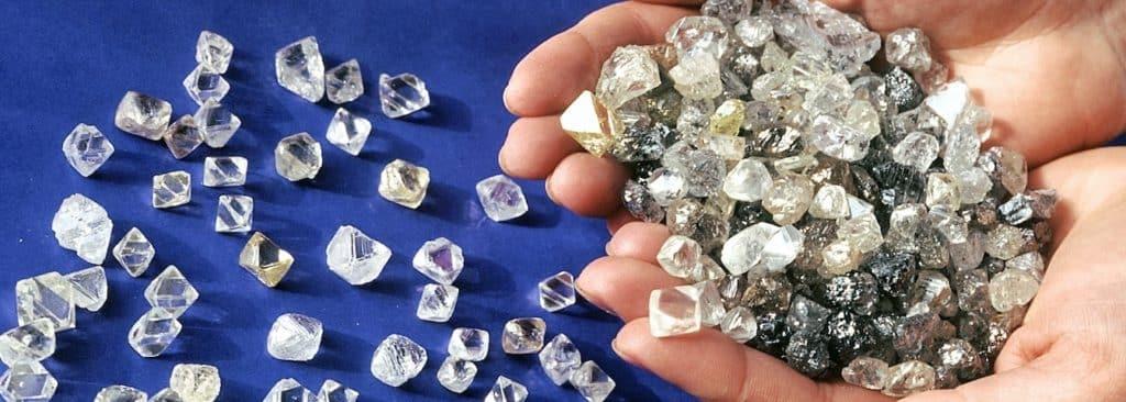 Окраска алмаза