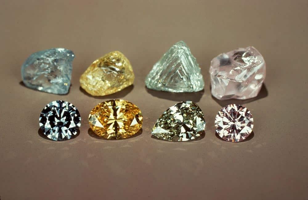 Какие алмазы становятся бриллиантами