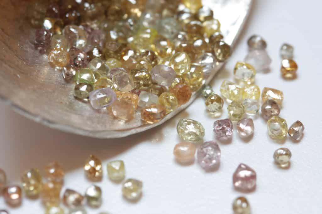 Способы обработки алмаза