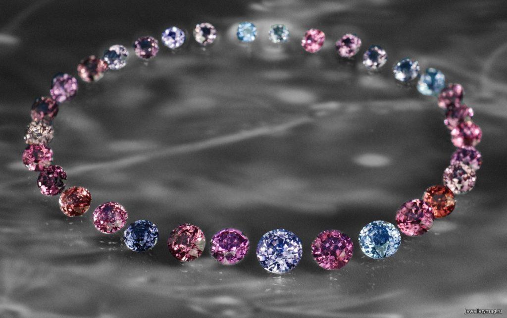Камень шпинель в ювелирных украшениях